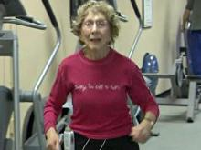 Octogenarian marathon runner inspires others