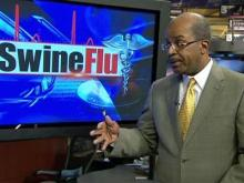 Dr. Mask discusses developments on swine flu