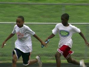 The Durham Striders has developed a program to help children develop healthier habits.