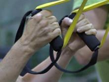 TRX Suspension Class is designed to tone the body