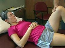 Women can fight knee injuries