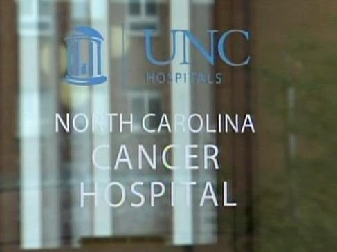 North Carolina's only public cancer hospital opened Tuesday in Chapel Hill.