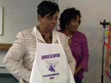 Angels in Aprons visit nursing homes