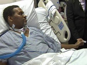 H1N1 flu puts man in hospital for weeks