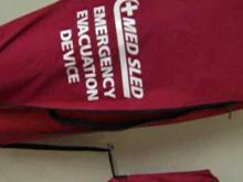 Med Sleds help with hospital evacuations