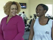 Workout buddies help maintain motivation