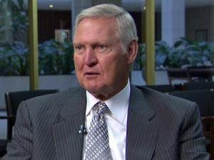 Jerry West suffers from atrial fibrillation