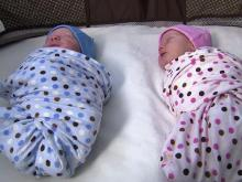 Classes prepare parents for twins