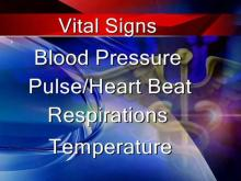 Know your vital signs