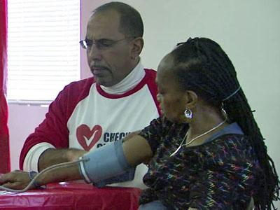 "CAARE, a nonprofit community-based organization, operates a free clinic in Durham that might end up serving as a national model for treating hypertension with a program called ""Check It, Change It."""