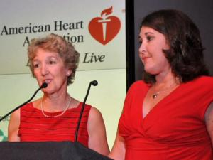 Kaye LaVelle, 62, and her daughter, Jill Morin, 40, both suffer from cardiomyopathy, a condition that produces an enlarged and weakened heart muscle.
