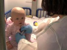 Duke gives cancer-stricken baby hope