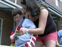 Chapel Hill camp helps young stroke victims