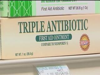 Overuse of antibiotic ointment can lead to super-resistant bugs.
