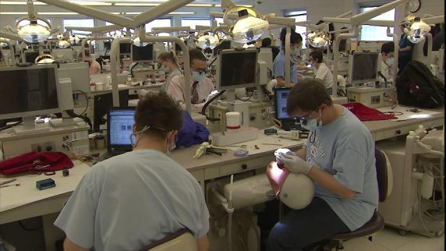 The University of North Carolina School of Dentistry is the only such school in the state.