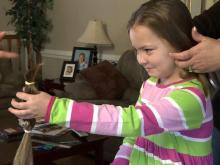 Sick Goldsboro girl reaches out to other sick kids