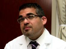 Dr. Sam Chawla, a urologist at WakeMed