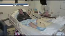 IMAGE: Raleigh woman survived bout with flesh-eating bacteria
