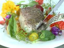 Herons chef makes snapper with peppers and tomatoes