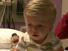 Chase Howell, cord blood treatment patient