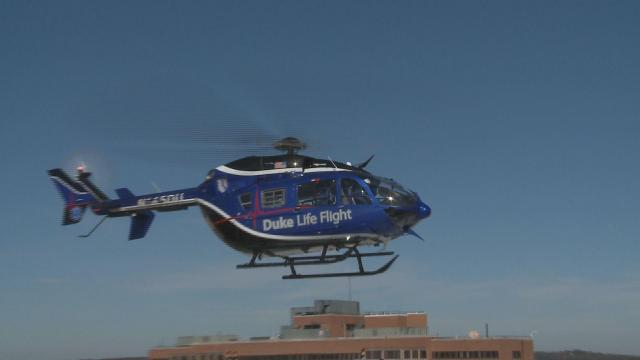 Duke's newest Life Flight helicopter