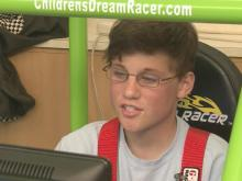Race car video game brings fun diversion to children's hospitals