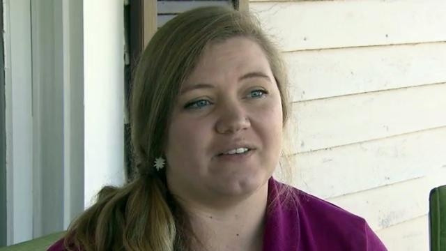 Kat Robison says she's pleased with the insurance coverage she was able to obtain through the Affordable Care Act.