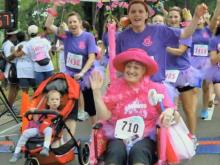 Race for the Cure team's inspiration returns cancer-free