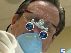 Regular checkups help keep teeth healthy and clean.