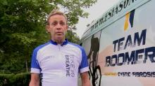 IMAGE: Cystic fibrosis patients bike from Cary to Baltimore