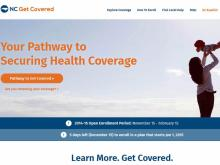 NC Get Covered website