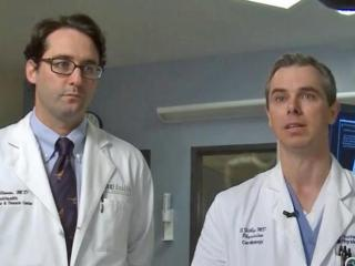 Heart surgeon Dr. Peter Ellman and interventional cardiologist Dr. Steven Filby came up with the plan to save Tommy Butler.