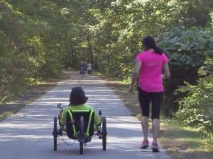 Training for a marathon is tough enough. Two Raleigh women are doing that while battling ALS and breast cancer while sharing an ever-stronger bond. A love of running brought Andrea Peet and Amy Charney together.