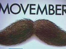 Moustaches fundraise for cancer in 'Movember' movement