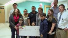 Durham charity gets Christmas boost from Raleigh race company