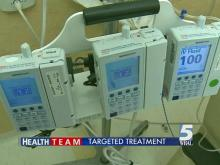 Targeted treatment lessens chemo side effects