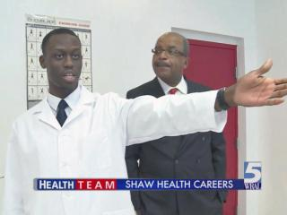 Shaw's Kinesiotherapy department on display at CIAA Tournament