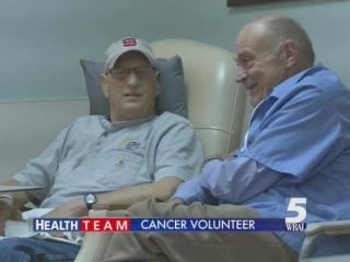 Chuck Holly's cancer was diagnosed and treated early as he was put on an aggressive program of radiation and chemotherapy. Now, cleared of his cancer, Holly wants to help others who are in the same situation.
