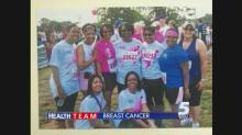 IMAGE: Raleigh breast cancer survivor runs Komen race to help others