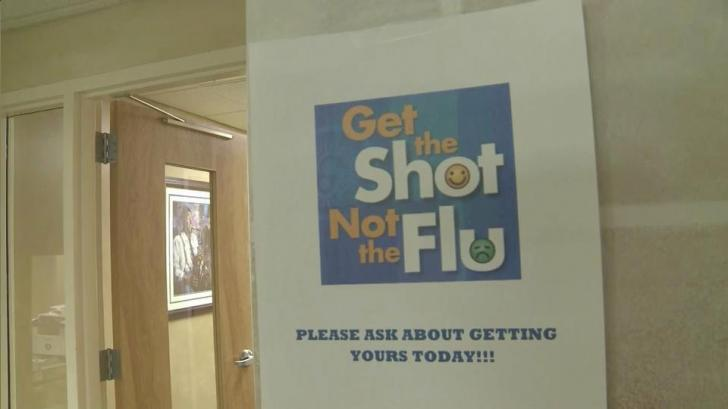Flooding knocks out vaccine stores as flu season nears