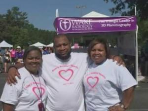 Often, when breast cancer strikes a family, it brings that family closer—they fight the battle together.
