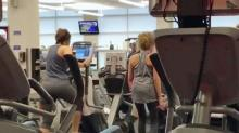IMAGE: Gym germs could turn workouts into health risk