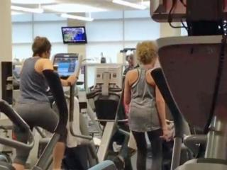 People go to the gym stay healthy, but nasty germs in the gym may actually be a health concern.