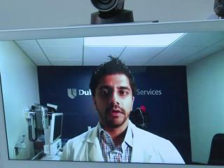 Many people are often reluctant to seek emergency care at a hospital because they think they'll be stuck in a crowded waiting room for hours before they see a doctor. Duke University Hospital's emergency department is trying to use telemedicine to address the concerns.
