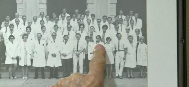 Measles vaccine pioneer spends 90th birthday remembering years at Duke Hospital