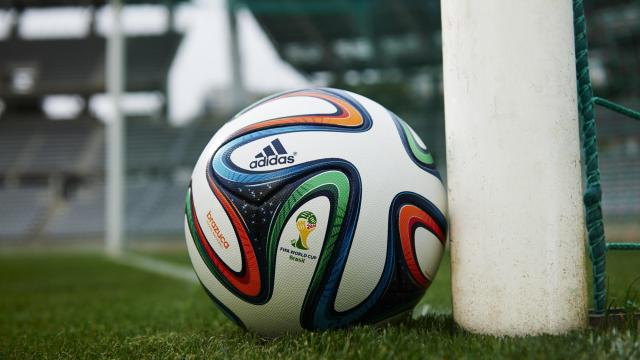 More than 3 billion people around the world tuned in to watch soccer's 2014 FIFA World Cup, during which there were 81 head collisions. And only 15% of those injured players received a concussion assessment from health care personnel. Pictured is Brazuca -- the official 2014 World Cup match ball.