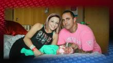 IMAGES: Baby dies of viral meningitis after deadly kiss