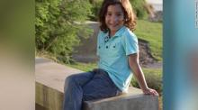 IMAGE: Transgender and 7 years old, a strong voice against Texas' 'bathroom bill'