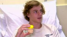 IMAGES: Are 'sea fleas' to blame for bloody bites on Australian teen's legs?