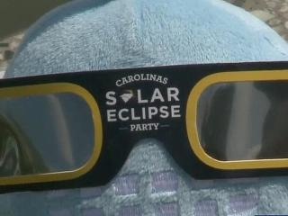 Eye protection required to view solar eclipse